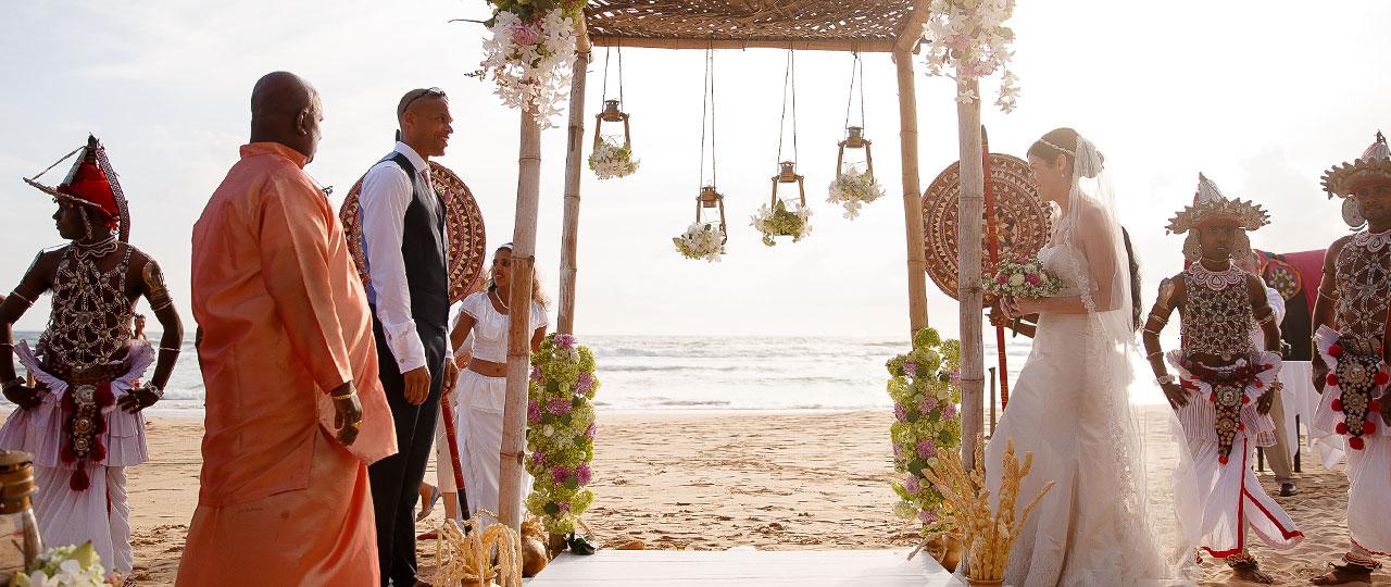 WEDDING  &  HONEYMOON IN SRI LANKA