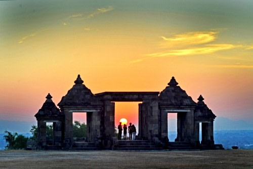 Special Region of Yogyakarta, the Tourism of Temples   (Part 2 – Site of Ratu Boko Palace)