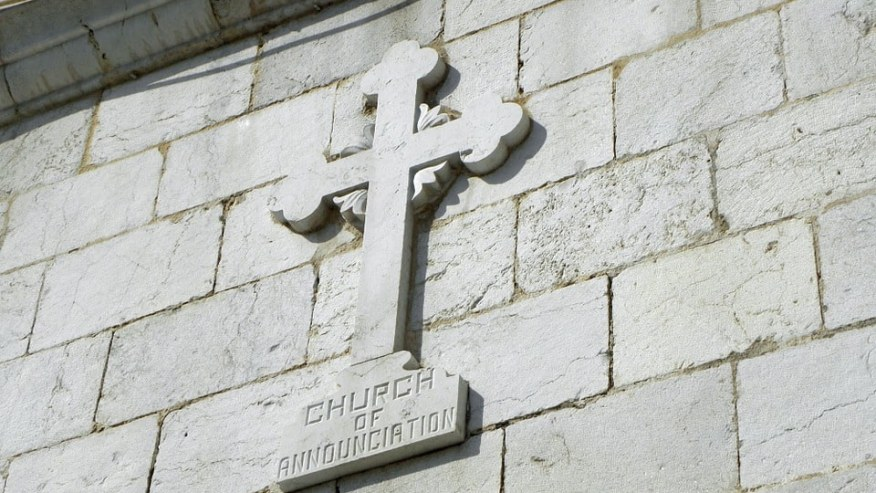 Cross at the Church of Annunciation