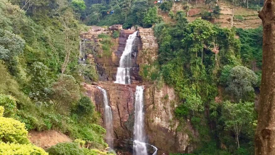 Waterfall Nuwara Eliya