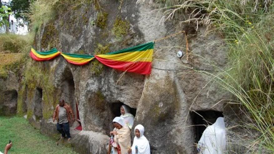 Adadi Mariam Rock Carved Church