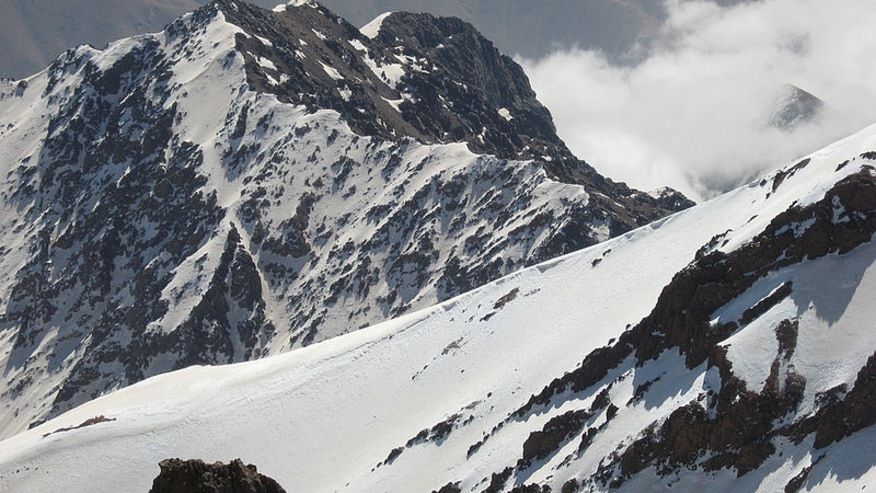 Stand tall at the Toubkal Summit