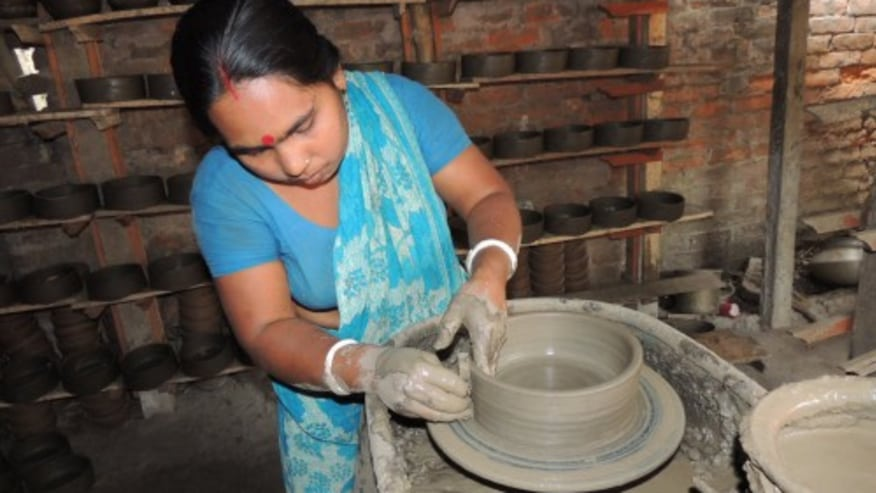 Village Excursion: Ceramics, Textile Factory, Brass, and Pottery