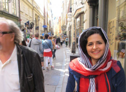 mohadeseh-uppsala-tour-guide