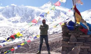 santosh-annapurna-tour-guide