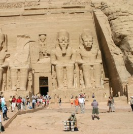 Admiring the Architecture of Abu Simbel