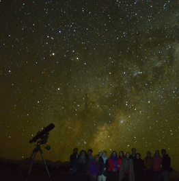 ATACAMA DESERT, ONE OF THE BEST PLACES IN THE WORLD TO CONDUCT ASTRONOMICAL OBSERVATION