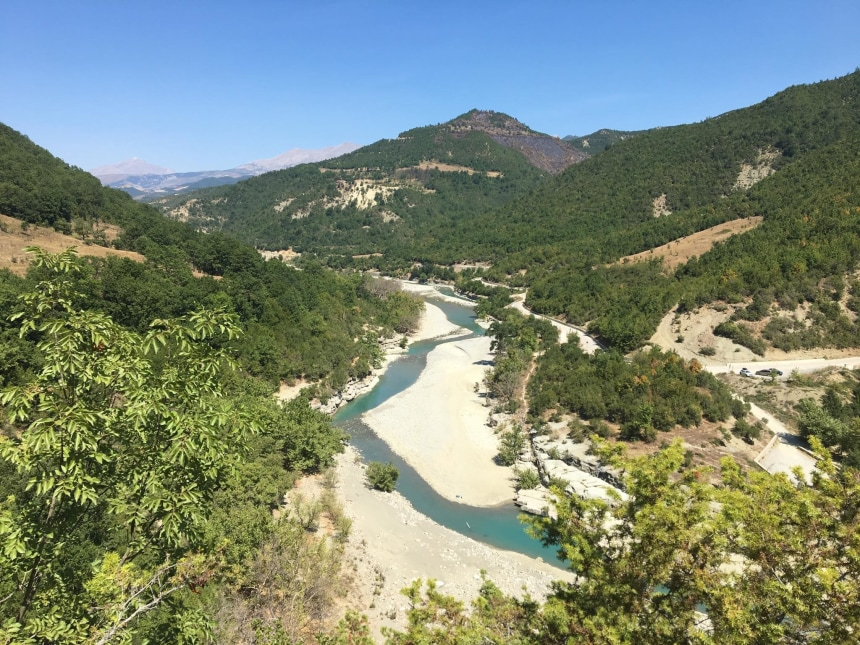 Nature throgh Osumi river