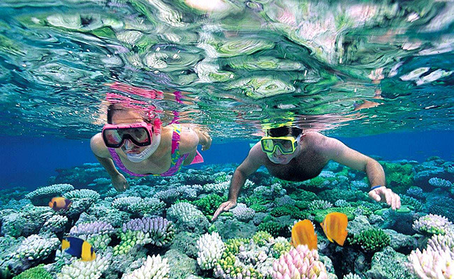 Enjoy snorkeling in Bentota