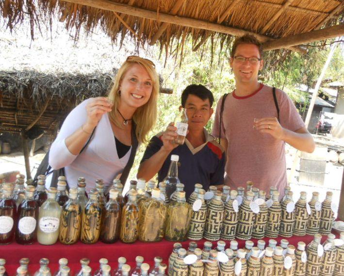 Ban Xang Hai  - Whisky Making Village