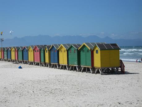 Muizenberg world famous Surfing Beach