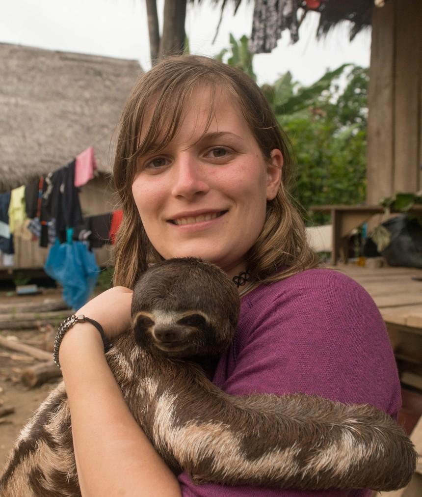 Pablito the cute sloth