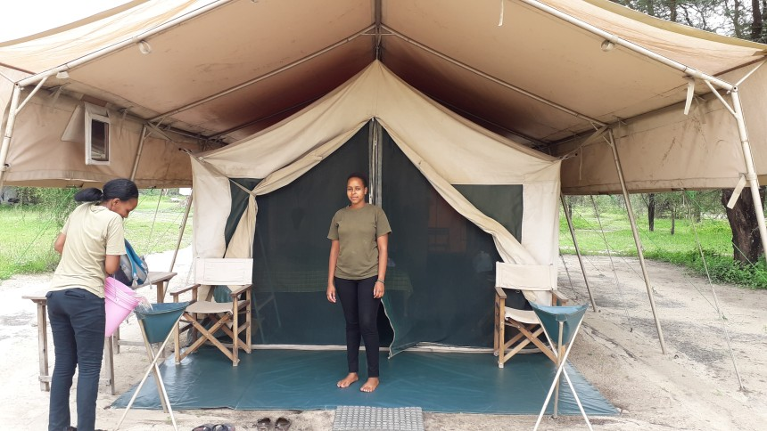 Tented camp stays