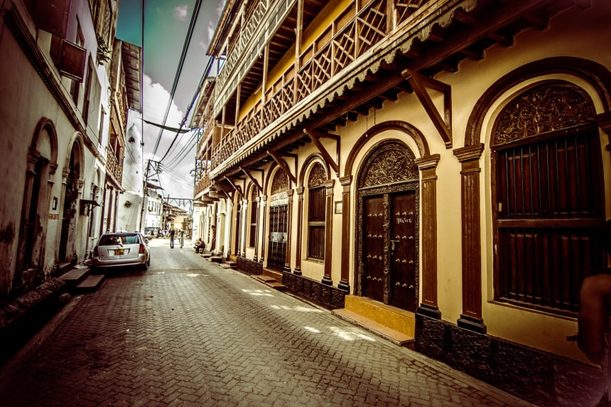 mombasa street views