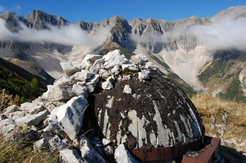 Hiking ridge in Permet