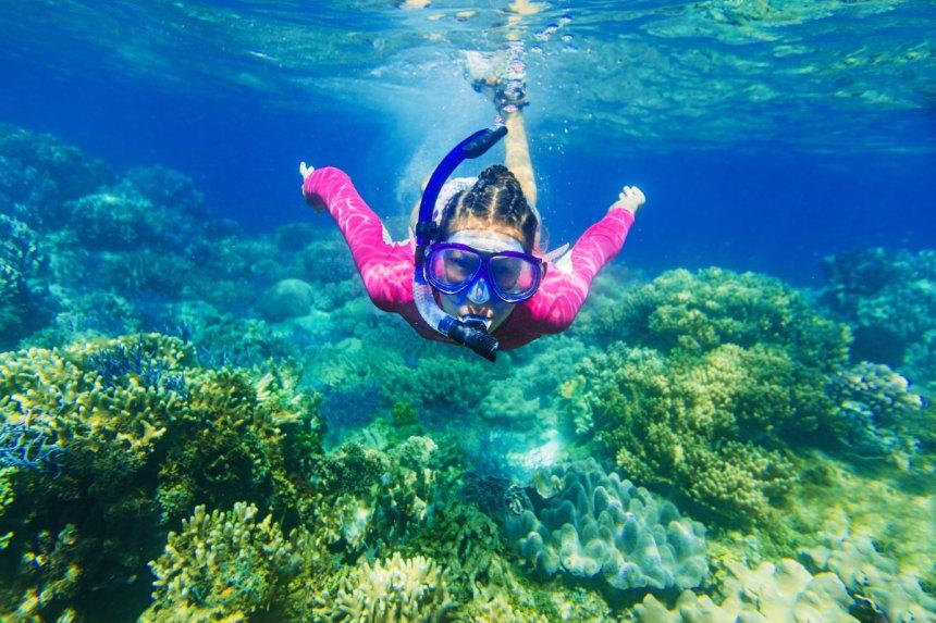 Snorkeling in Karaburun peninsula