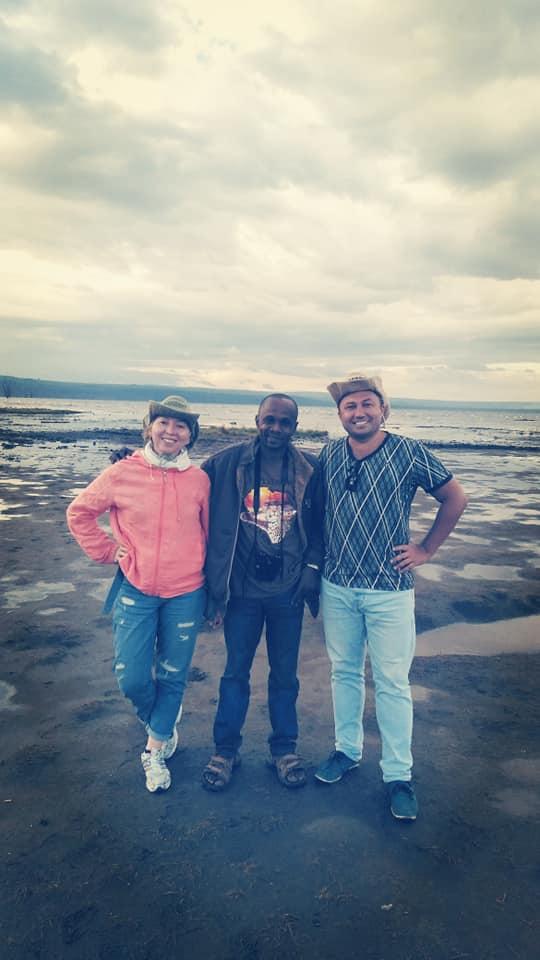 At Lake Nakuru N. Park