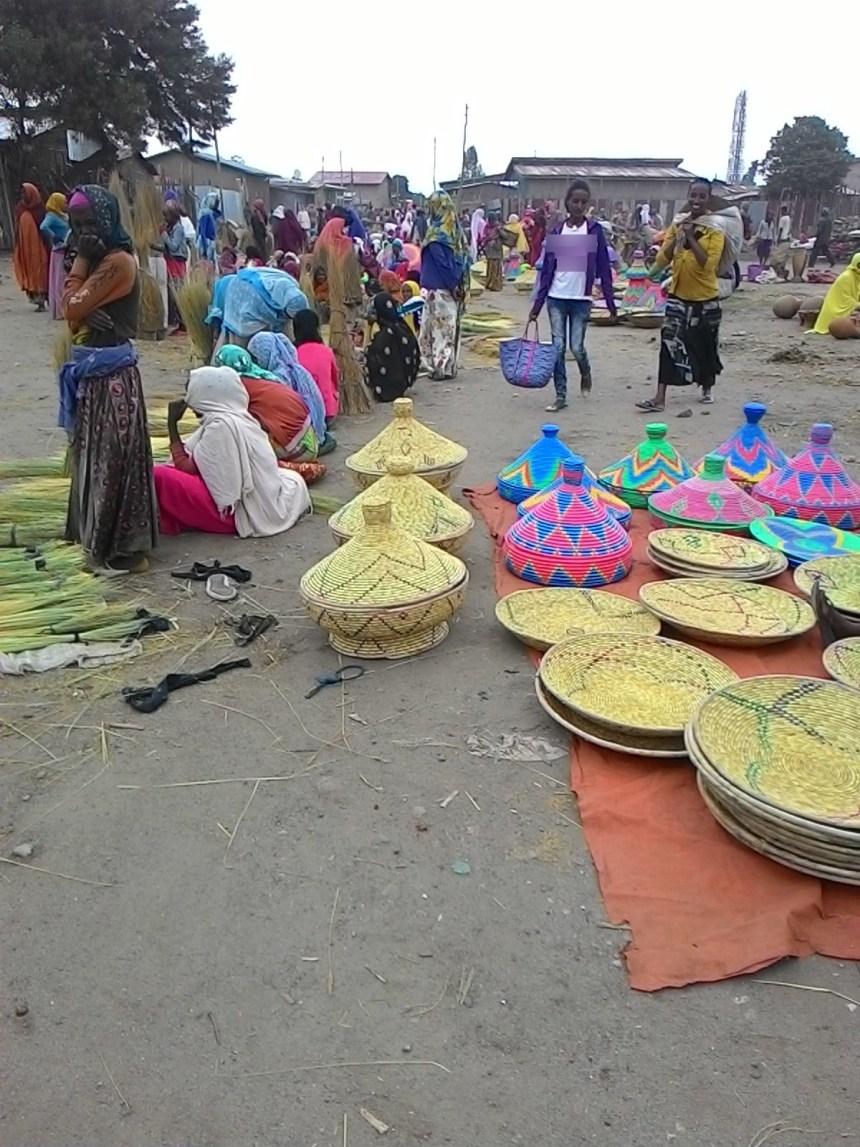 Local weekly held Sunday market at Adadi town