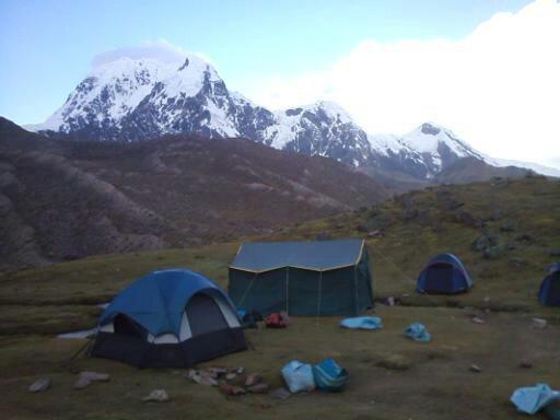 Tiksa Cocha Lake Camp Site