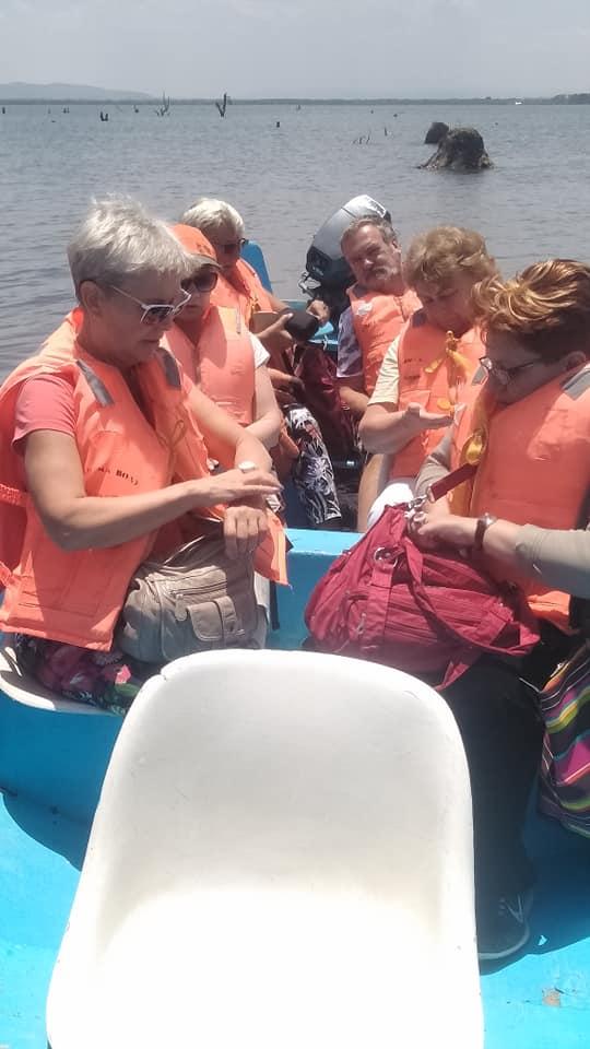 Enjoy a boat ride, explore the Crescent Island