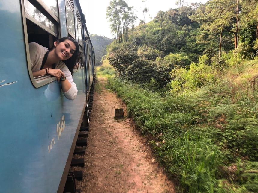 Train travel to Ella