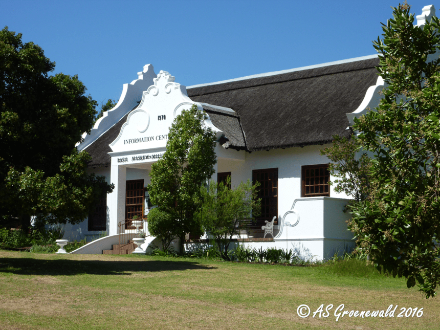 The Visitor Centre in the Helderberg Nature Reserve