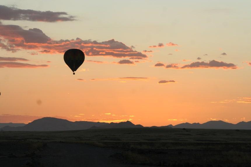Balloon over the Karoo