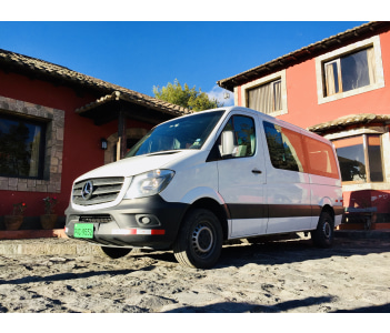 Mercedes Sprinter up to 10 people