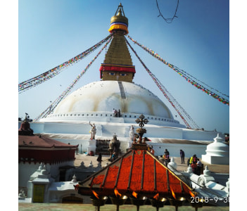 Boudhanath Stupa..