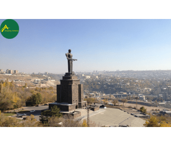 Park of the Victory and The Mother Armenia statue