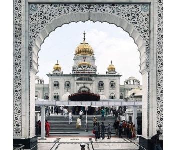 Guru Dwara Bangla Sahib Entrance