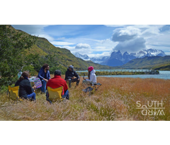 Having Lunch in Torres del Paine National Park