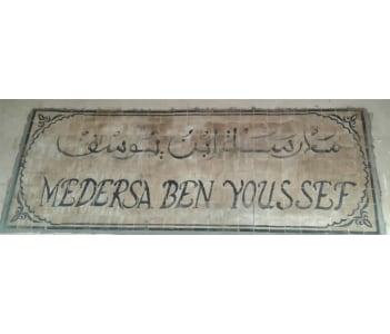 Medersa Ben Youssef / Learn some arabic