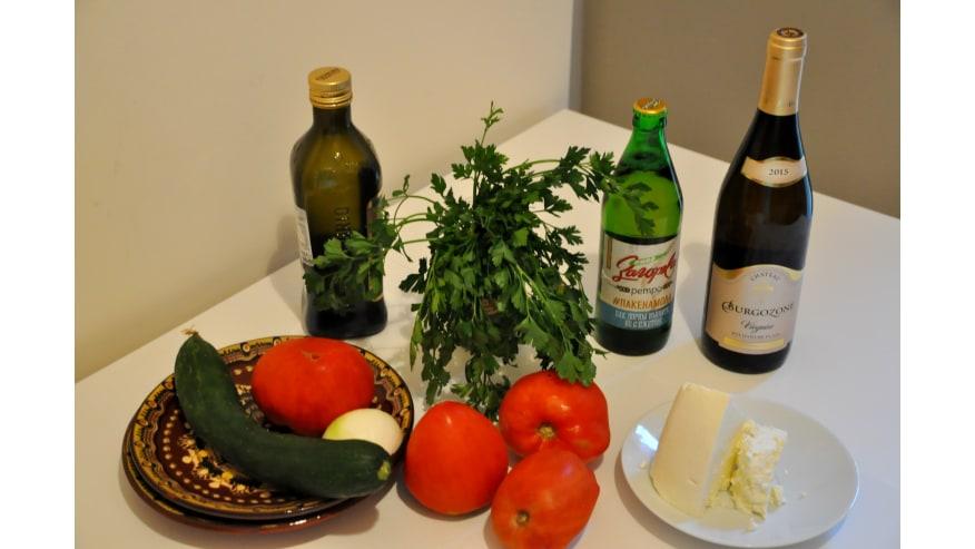 products for shopska salad