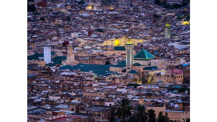 View of the city of Fez