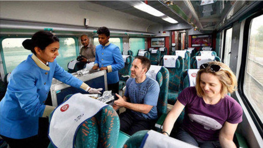 Travel on the Gatiman Express