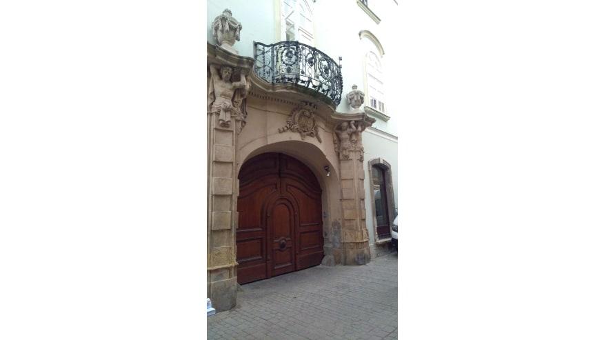 nice baroque arch gate