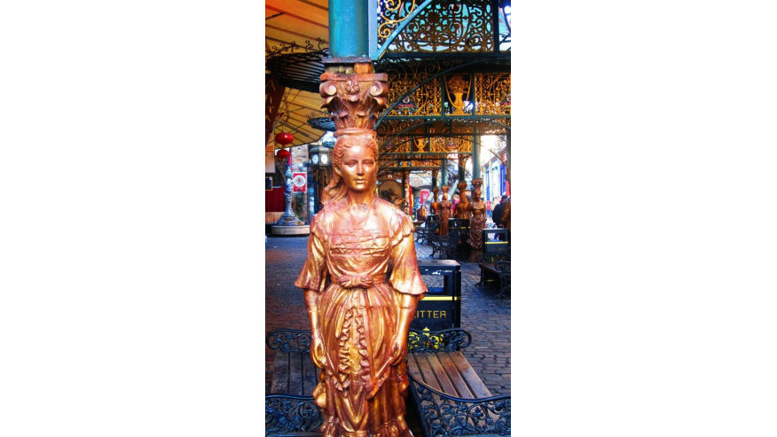 Statue in Camden Lock Market