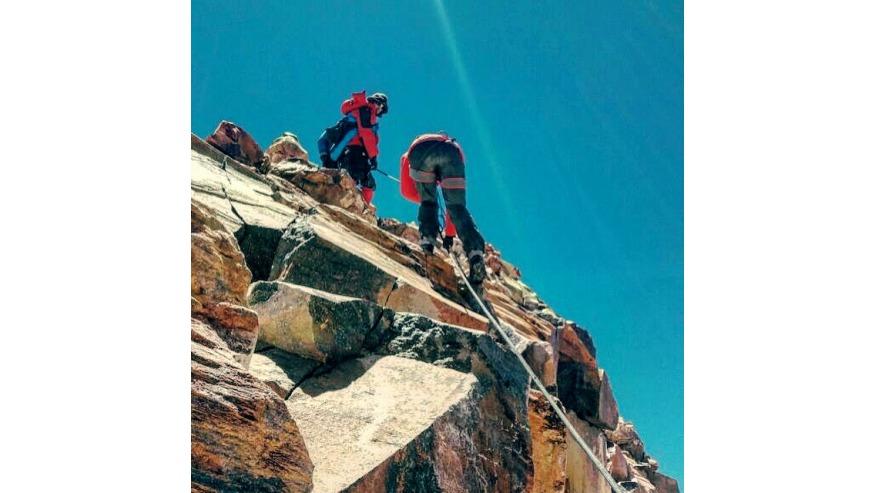 Last Steps to Summit