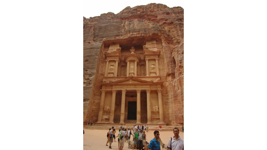 Al Khazneh (The Treasury) at Petra
