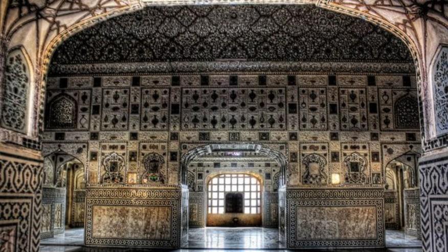 Inside the Taj Mahal