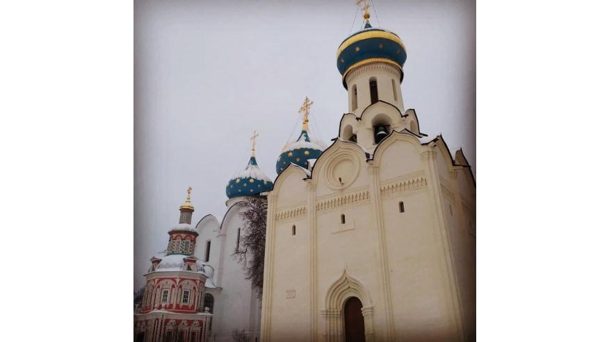 Sightsee at the Sergiev Posad Monastery