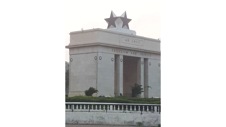 The Black Star Square Gate