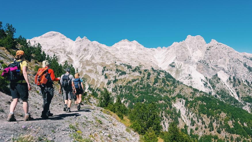 Go Cross-Border Trekking around the Balkan Peaks