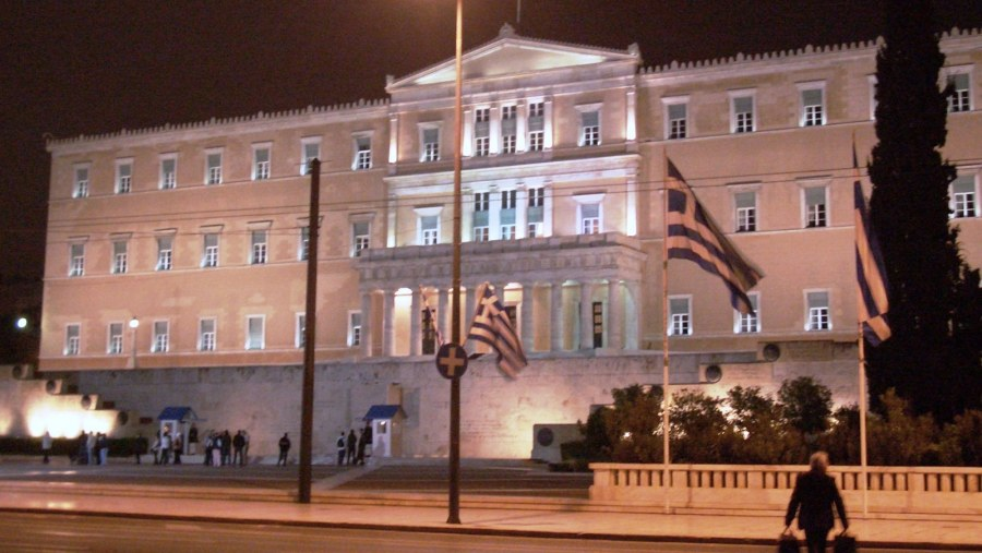 The Greek Parliament Building was erected between 1836 and 1842 as the royal palace for king Otto I, the first king of modern Greece. The architect was the German Friedrich von Gärtner, who designed a monumental building with neoclassical facade.