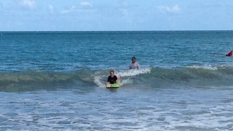 Surfing lessons and Bio Bat Tour