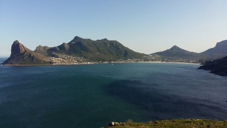 Hout Bay from Chapmans peak