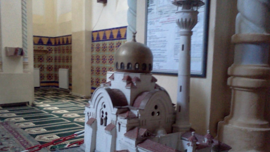 The model of Carol I mosque