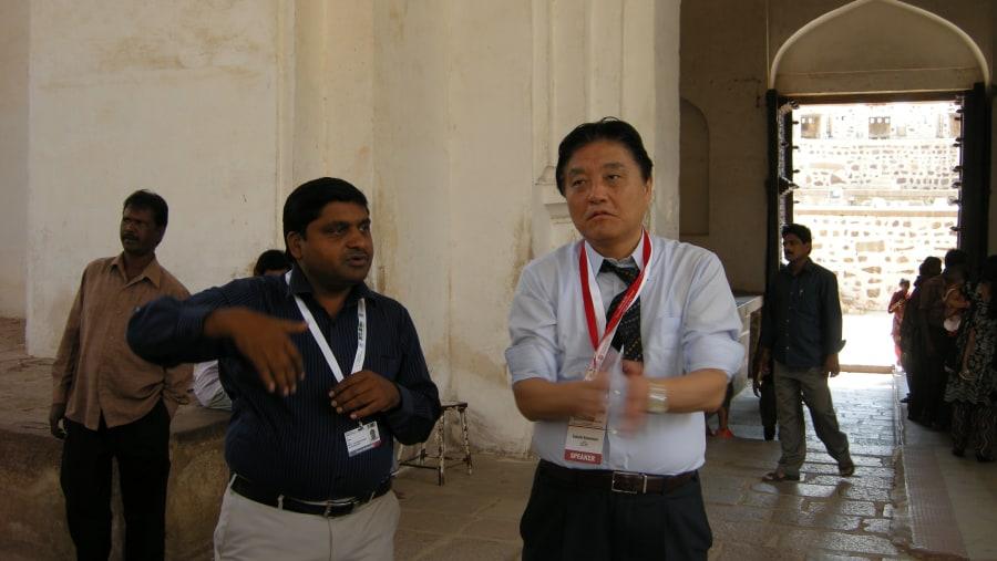 Me with nagoya mayor