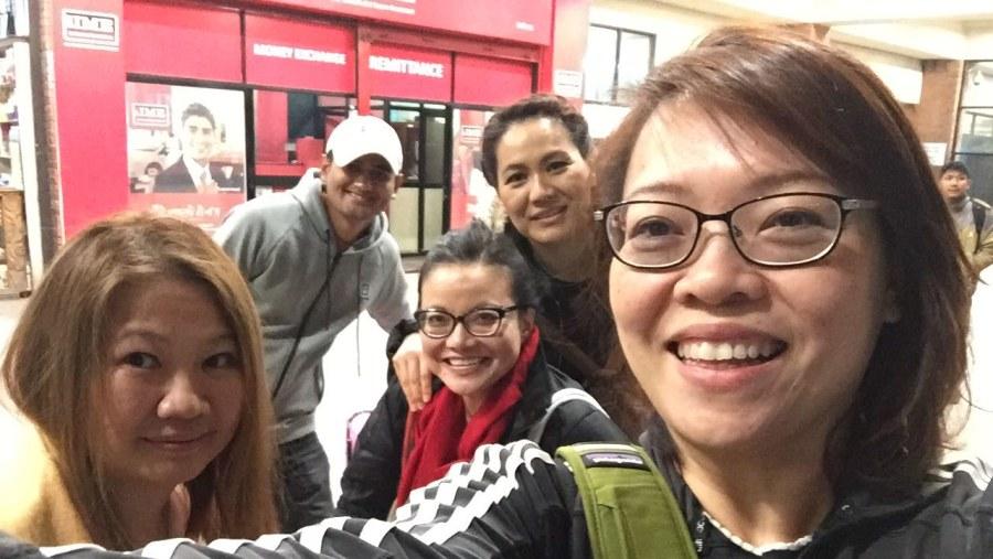 Kathmandu reunion trip Feb 2017